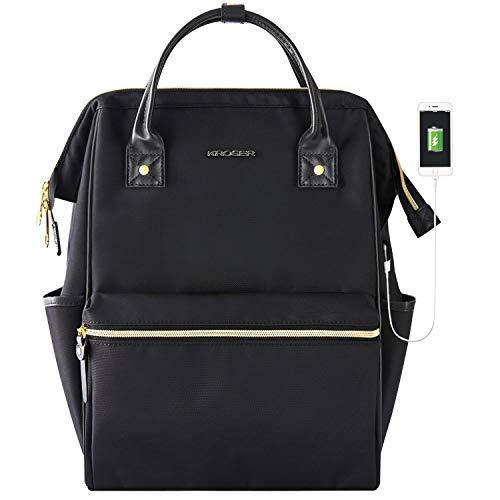 KROSER Laptop Backpack 15.6 Inch Stylish...