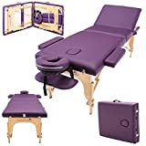 Massage Imperial Chalfont -Table de massage Portable pro luxe - 3 Zones -...