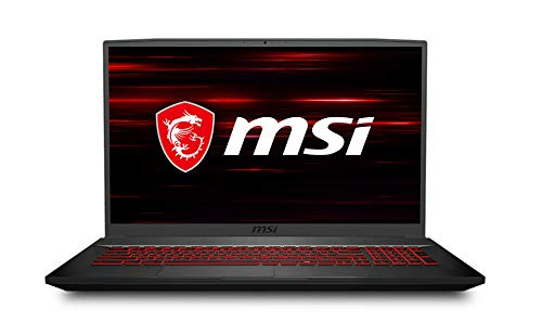 MSI GF75 Thin Gaming Laptop, 17.3' FHD 144Hz IPS Screen,Intel Core i5-10300H Processor Up to 4.50 GHz, NVIDIA GTX 1650Ti Graphics, 8GB RAM,512GB PCIe SSD, Win10 Home+2weeks SkyCare Support