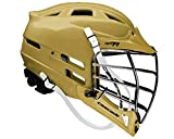 Cascade CPV-R Lacrosse Helmet with Black Face Mask (Choose Your Shell Color)-Old Gold-Adult-Medium