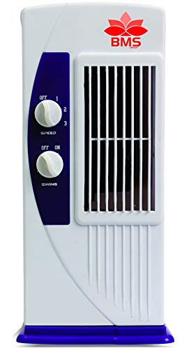 BMS Lifestyle TF-104 Portable Mini Tower Fan with 90 Degree Rotating & Revolving Base (COLOUR MAY...