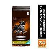 Purina Pro Plan Weight Management Dry Dog Food, SAVOR Shredded Blend Weight Management Formula - 34 lb. Bag, PRO PLAN AdltShBlnd Wt Mgnt