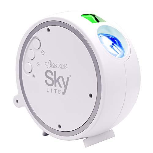 BlissLights Sky Lite - LED Proiettore di Stelle, Lampada Galassia per la Casa, Decorazione della Stanza, Luce d'atmosfera e Notturna (Stelle Verdi)