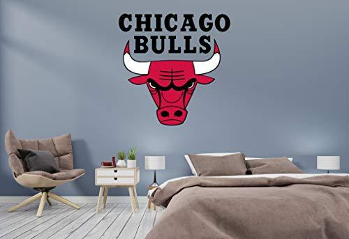 Basketball Team - NBA Team Logo Wall Decal Vinyl Sticker for Home Interior Decoration Doors Laptop, Window, Mirror, Car (30