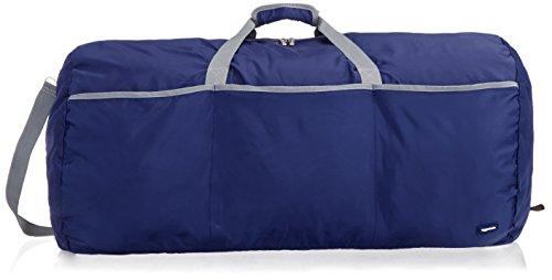 Amazon Basics - Borsone grande, 98 l, Blu navy