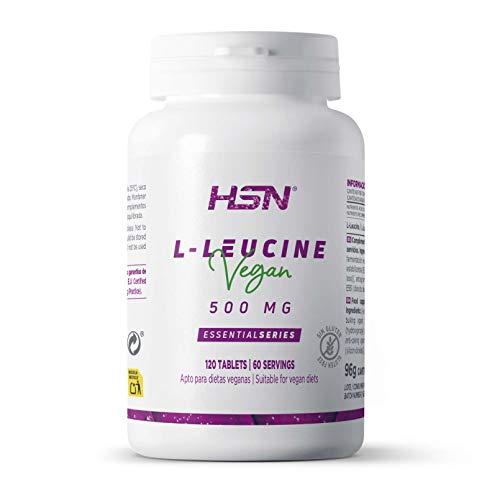 L-Leucina de HSN | 2000mg por Dosis Diaria | Aminoácido Esencial |...