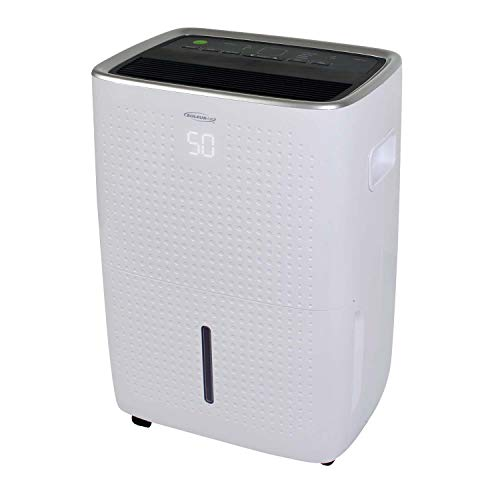 Soleus AC 25-Pint Energy Star Rated Dehumidifier with Mirage Display and Tri-Pat Safety Technology, DSJ-25EW-01