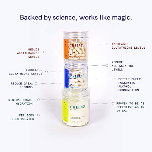 Cheers Restore & Hydrate   After-Alcohol Aid & ORS Combo   for Fast Liver Detox & Rehydration After Drinking Alcohol. Replenish with Our Electrolyte Formula (Single) 3 - My Weight Loss Today