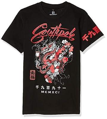 Crewneck Seam seal print Dragon Chinese kanji Weave type: Knit