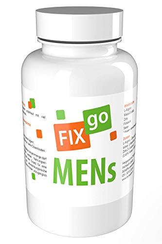 FIXgo MENs | Spermabildung, Fruchtbarkeit & Leistung/Vegan