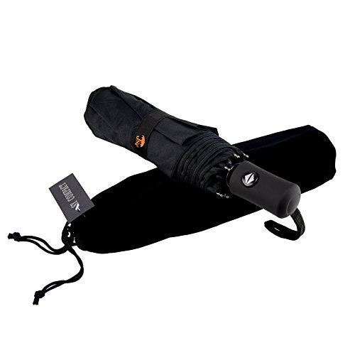 Parapluie de voyage automatique SY - Compact, coupe-vent, léger,...