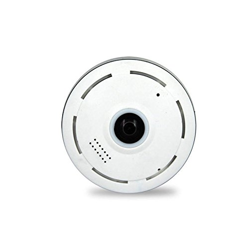 IP Cam Kit - Telecamere Di Sorveglianza Wifi Videocamera Portatile IP Camera Wifi - DC11I Video 3D Ad Alta Definizione / 360 Gradi A Tutto Tondo