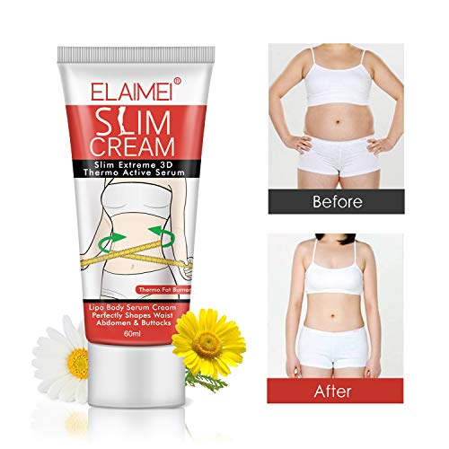 Hot Cream (2 Pack), Slimming Firming Anti-Cellulite Massage Cream,Fat Burning Weight Losing Moisturizer Gel for Shaping Waist, Abdomen and Buttocks 6