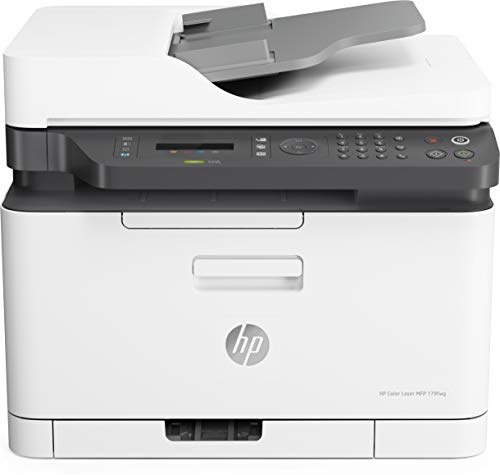 HP Color Laser MFP 179fnw 4ZB97A, Stampante Multifunzione A4 a Colori, Stampa, Copia, Scansiona,...