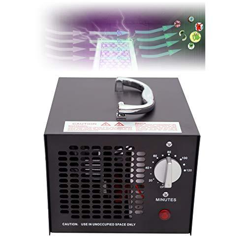 PDFF El Ozono 50.000Mg / H Comercial Industrial Generador De Humo Purificador De Aire Moho Olor De La Cocina del Hogar Coches Barco,  