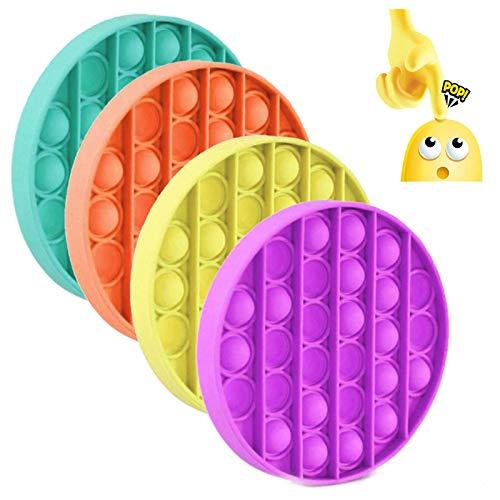 4Pcs Push pop Bubble Sensory Fidget Toy, Autism Special...