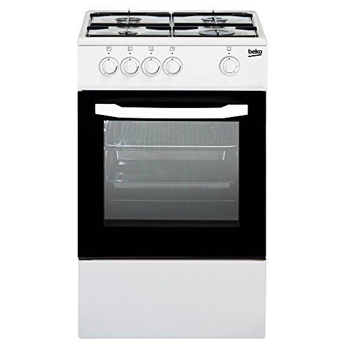 Beko CSG42001FW cucina Piano cottura Bianco Gas, Senza installazione