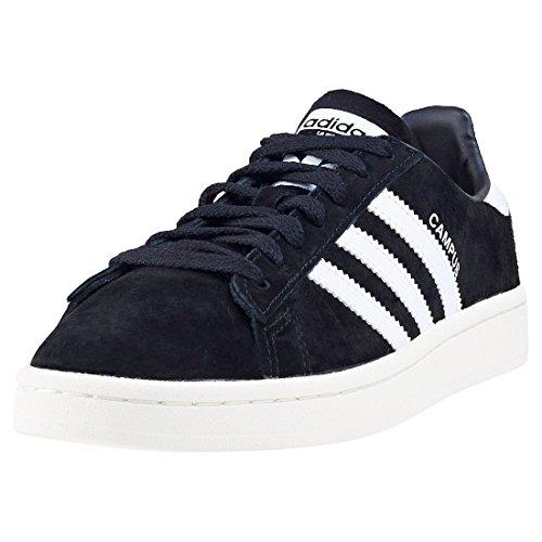 adidas Campus, Zapatillas de Deporte para Hombre, Negro (Core Black/footwear White/chalk White), 47 1/3 EU
