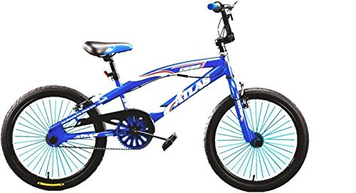 Atlas UK25 20 Inches Single Speed Bike for Kids of Age 5-8 Yrs Blue