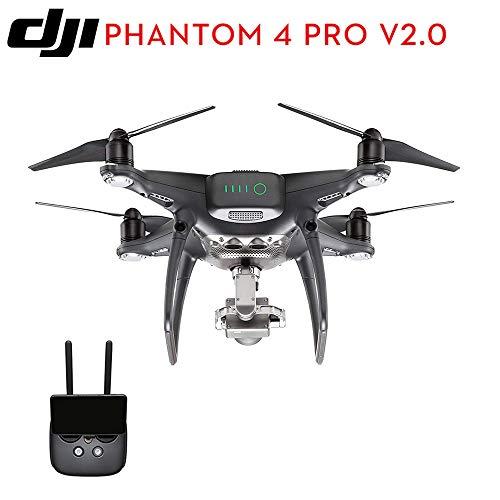 BQT DJI Drone Camera Phantom 4 PRO V 2.0 1-inch 20MP sensore CMOS Exmor R, Tempo di Volo pi Lungo e Caratteristiche pi Intelligenti, 4K Full HD Video Aerei Giocattoli,Black