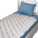 Duro-Med Alternating Pressure Mattress Pad for Twin Beds - Air Pressure Mattress - Inflatable Bed Pad Helps Relieve Bed Sores, Tan, 36 x 2 x 90 Inch