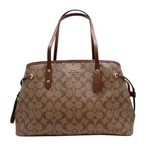 Coach Women's Hand shoulder bag F57842 Khaki /Brown 18