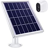 Solar Panel Compatible with Arlo HD with Adjustable Mount, 12 Feet/ 3.6 m Waterproof Cable and Micro USB Connector, Not Compatible with Alro Pro and Arlo 2