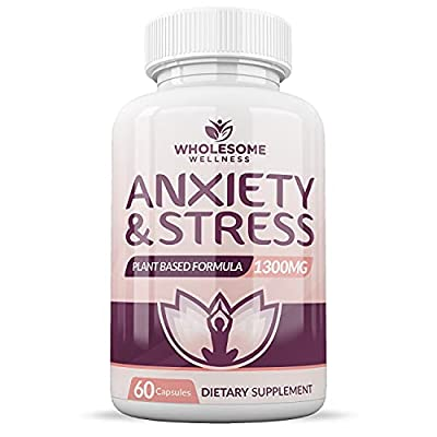 Natural Organic Non-Gmo Plant-Based Herbs: Plant-based anxiety supplement and depression supplements that provides total mood support. Your brain and body may need a little extra nutritional support to help with anxiety, depression, and stress. Absor...