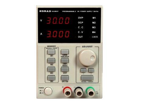 KORAD KA3005P - Programmable Precision Variable Adjustable 30V, 5A