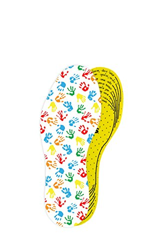 Kaps Arieto Cut to Fit Quality Shoe Insoles for Kids, Breathable Prevent Blisters Calluses and Smell Fresh