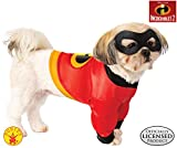 Rubie's Disney: Incredibles 2 Pet Costume Shirt and Mask, Large