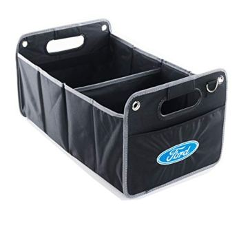 LAUTO Car Storage Bag, Car Trunk Organizer, Car Trunk Storage Box, Best for Tidy Auto Organization & Boot Bag Maintenance, Embroidery Logo,for Ford