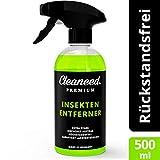 Cleaneed Premium Insektenentferner – Made in Germany – Extra stark, Rückstandsfrei, Garantiert Lackverträglich, Einfacher Auftrag 500ml