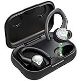 Auriculares Inalambricos Bluetooth 5.1 Deportivos, IPX7 Impermeable Cascos Inhalabricos Sport con 2...