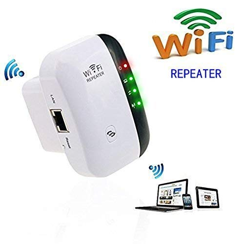 WiFi Range Extender 300Mbps Wireless Repeater Internet Signal...