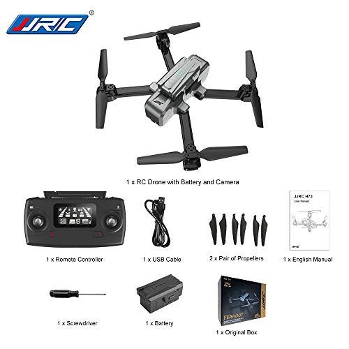 Ocamo JJRC H73 1080P 5G WiFi RC Drone RTF con Punto di Interesse Seguente modalit Telecomando Giocattoli Elicotteri RC Livello Intermedio vs f11 sg906 z5 1 Batteria