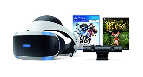 Paquete PlayStation VR (Virtual Reality + Astro Bot + Moss + Cámara) - PlayStation 4 - Bundle Edition