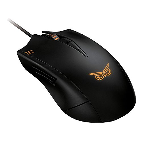 Asus Strix Claw Dark Mouse per Gaming,...