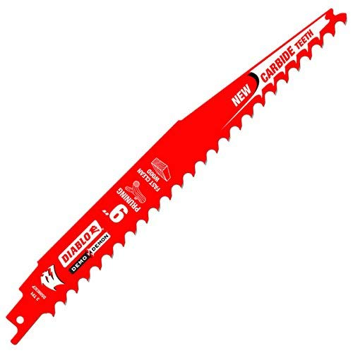 Freud DS0903CP Diablo 9' Carbide Pruning Reciprocating Blade (1...