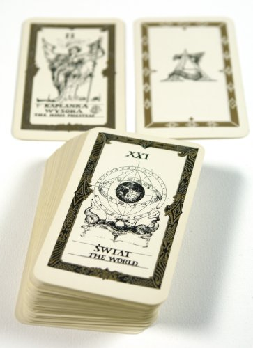 Jasniak Black and White Tarot (Polish Tarot)