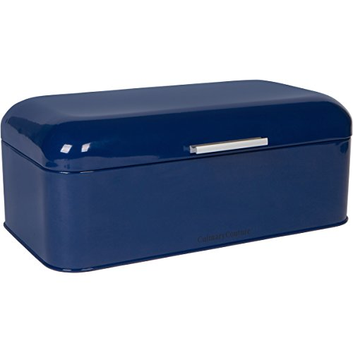 Large Blue Bread Box - Powder Coated...