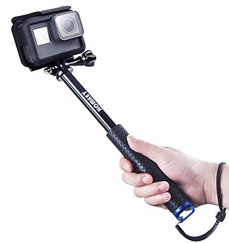 Homeet 49CM Perche Selfie pour Caméra d'action Selfie Stick Télescopique...