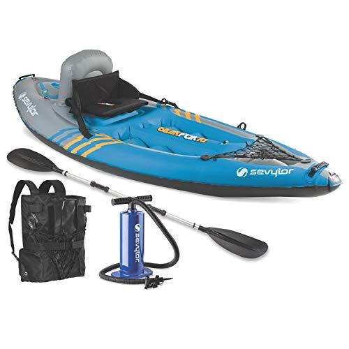 Sevylor Quikpak K1 1-Person Lightweight Kayak