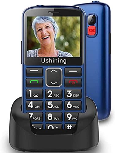 Ushining Unlocked Senior Cell Phones 3G AT&T Big Button...
