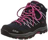 CMP Unisex-Kinder Kids Rigel Mid Shoe Wp Trekking-& Wanderstiefel, Blau...