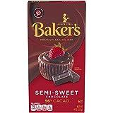 Baker's, Premium Semi Sweet Chocolate Baking Bar, 4 oz