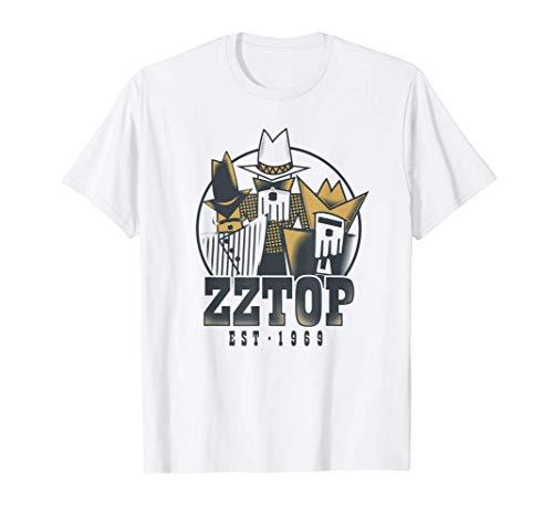 ZZ Top - Tres Hombres Tour Maglietta