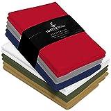Trade Fountain Serviettes de Table Lot de 12 Coton - 50 x 50 cm...