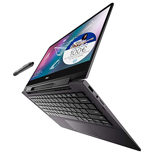 "Dell Inspiron 13-7391 Ordinateur Portable Tactile Convertible 13"" Full HD Black (Intel Core i5, 8GB LPDDR3, 512 GB SSD, Intel UHD Graphics 600 series, Windows 10 Home) Clavier AZERTY Français"