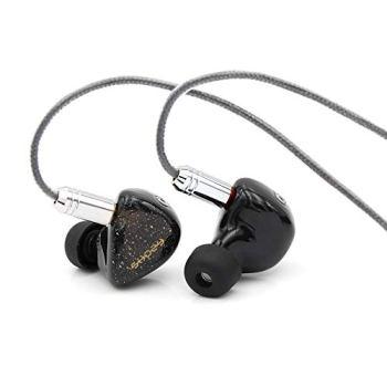 Linsoul Shozy Form1.1 1BA+1DD Dual Driver Hybrid in-Ear Earphones, Beryllium Dynamic Driver, Detachable 0.78 2Pin Cable for Audiophile Musician